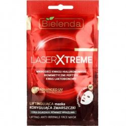 Laser Xtreme Liftingująca maska korygująca zmarszczki w hydroplastycznym płacie 3D, maska, 10g