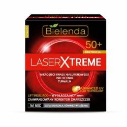 Laser Xtreme Liftingująco – wygładzający krem na noc 50+, krem, 50 ml