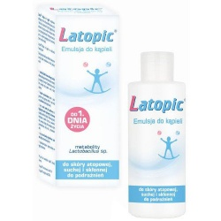 Latopic, emulsja do kąpieli, 200 ml