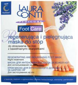 Laura Conti Foot Care, maska do stóp, saszetka 10ml