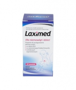 Laximed,saszetki dla niemowląt, dzieci, 10 szt