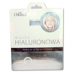 L'Biotica Maska Hialuronowa na tkaninie, 23ml