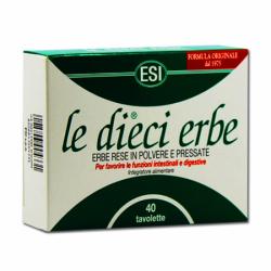 ESI, Le Dieci Erbe, 40 tabletek