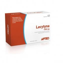 Lecytyna 1200 mg APTEO