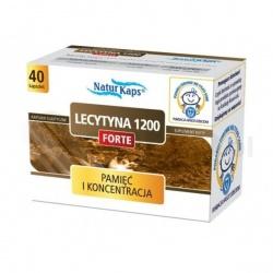 LECYTYNA 1200 FORTE NATURKAPS 1200 mg, kapsułki, 40 sztuk