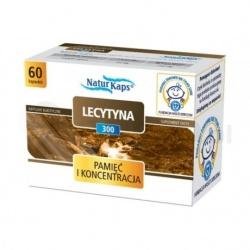 LECYTYNA 300 NATURKAPS 300 mg, kapsułki, 60 sztuk