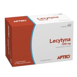 Lecytyna Forte 1200 mg x 40 kaps