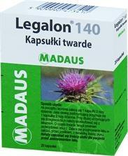 Legalon 140, kapsułki, 140 mg, 20 szt