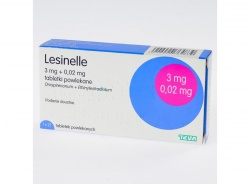 Lesinelle - Ethinylestradiolum, Drospirenonum, 21 tabletek powlekanych