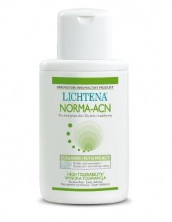 Lichtena Norma-ACN, płyn myjący do skóry trądzikowej, 200 ml