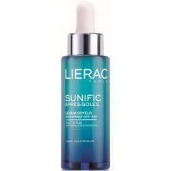 Lierac Sunific Apres-Soleil, serum jedwabne po opalaniu do twarzy, 30ml