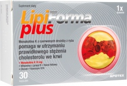 LipiForma Plus, kapsułki, 30 szt