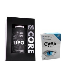 FITNESS AUTHORITY - LipoCore + Eyes Formula - 120kaps + 30tab