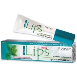 Lips Help maść do ust na opryszczkę łagodna mięta 10 ml