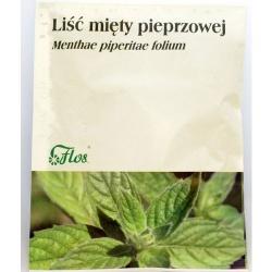 Liść mięty, zioło pojedyncze (Flos), 50 g
