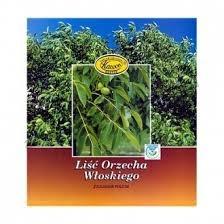 Liść orzecha włoskiego, zioło pojedyncze, (Kawon), 50 g