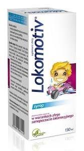 Lokomotiv, syrop dla dzieci o smaku landrynek, 130 ml