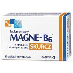 Magne-B6 Skurcz, kapsułki, 30 sztuk