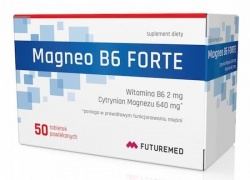Magneo B6 Forte, Futuremed, 50 tabletek