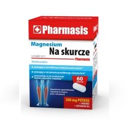 Magnesium na skurcze, Pharmasis, 60 tabletek