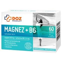 DOZ Product Magnez + B6, tabletki, 60 szt