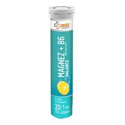 Magnez + B6 Balance, tabletki musujące, 20szt