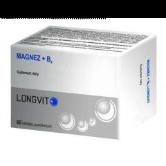 MAGNEZ + B6 LONGVIT 60 TABLETEK