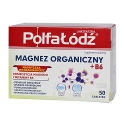 Magnez organiczny+B6