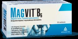Magvit B6, 50 tabletek dojelitowych