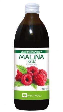 Malina, sok, (Alter Medica), 500 ml