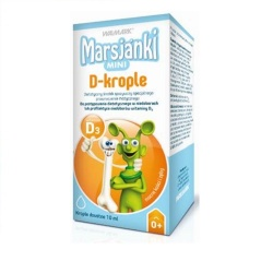 Marsjanki Mini D, krople, 10 ml