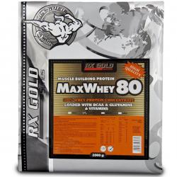 RX Gold - MaxWhey 80 - 2000 g
