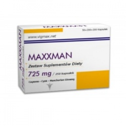 MaXXman, 100 + 100 + 50 kapsułek