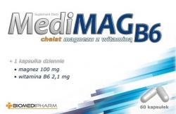 MediMAG B6, 60 kapsułek