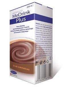 MeDrink Plus Czekoladowy, MediFood, płyn, 200 ml