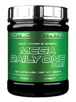 SCITEC - Mega Daily One Plus - 120caps