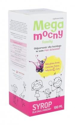 Megamocny family, syrop, 190 ml