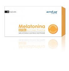 Melatonina Extra, 30 kapsułek