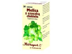 MELISA Z SZYSZKĄ CHMIELU, 30 tabletek