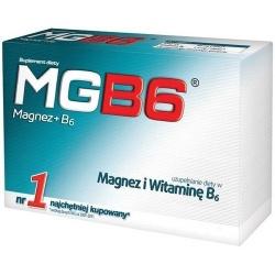 MGB6, tabletki, 50 sztuk