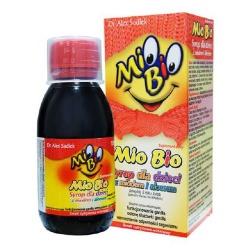 Mio Bio, syrop dla dzieci, z miodem i aloesem, 120 ml