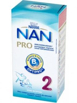 Mleko Nan Pro 2 proszek powyżej 6 miesiąca 350g