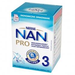 Nan Pro 3 Junior, mleko w proszku, 2x400g