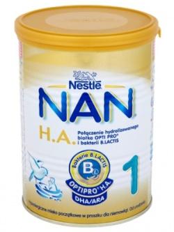 Mleko Nan Pro HA 1 proszek od urodzenia 400g