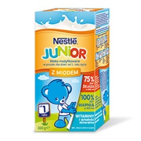 Nestle Junior z miodem, od 1 roku życia, 350g