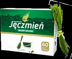Młody Zielony Jęczmień, kapsułki, 60 sztuk