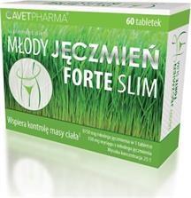 Młody Jęczmień Forte Slim, tabletki, 60 szt