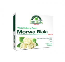 Moc Natury Morwa Biała, tabletki, 30 szt
