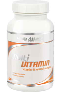 BODY ATTACK - Multi Vitamin - 100tab
