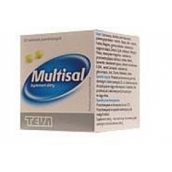 Multisal, 50 tabletek